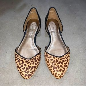 Jessica Simpson Leopard Print Flats